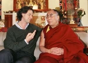 Meeting the Dalai Lama.
