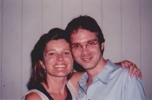 Kate Mulgrew and Brannon Braga (Photo by Ron Benbassat).