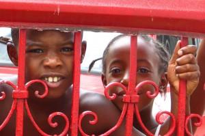 Children in Viñales, Cuba