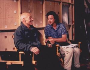 With Patrick Stewart